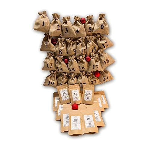 Espresso Adventskalender - das Wesentliche (ohne nummerierte Säckchen), ganze Bohnen