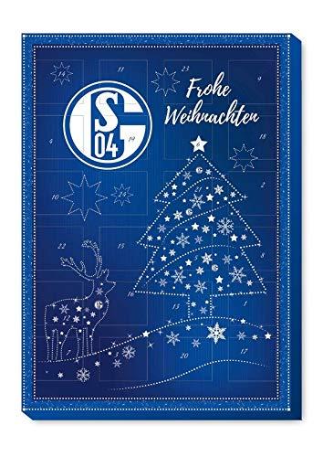FC Schalke 04 S04 Adventskalender 2020 Kalender inkl. 3 Aufkleber Fußball Bundesliga Weihnachtskalender Fanartikel (€ 6,42/100g)