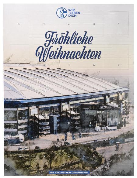FC Schalke Adventskalender Team 2020
