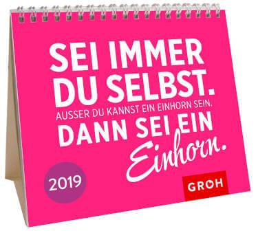 Einhorn Jahreskalender