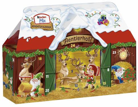 Ferrero Kinder Mix Adventskalender2018 thumbnail