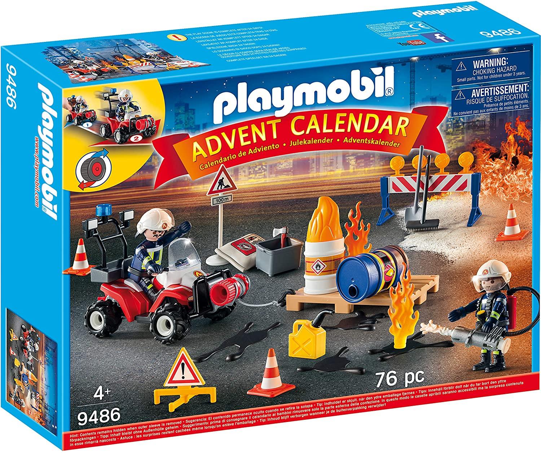 Playmobil Firefighters Advent Calendar