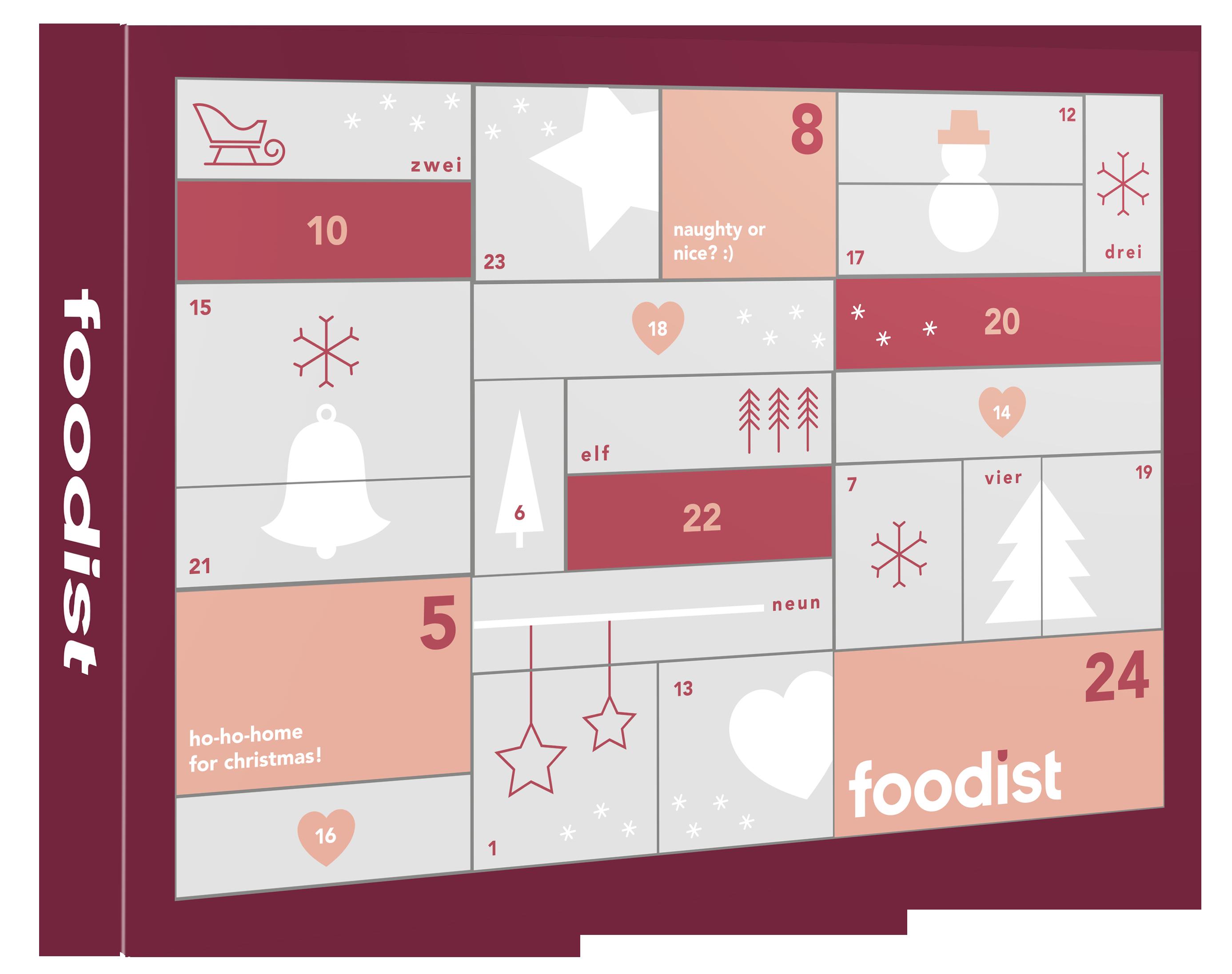 Gourmet Adventskalender 2020