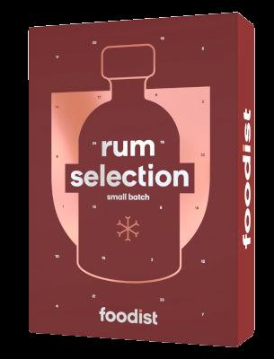 Foodist Rum Adventskalender 2021
