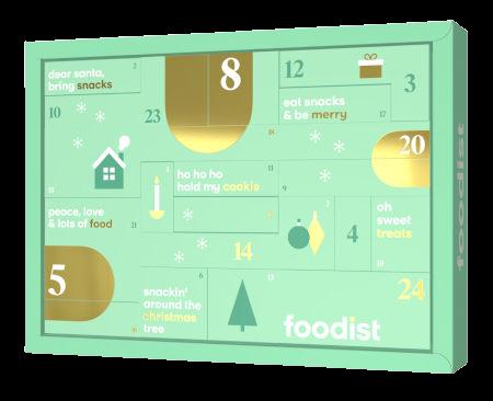 Foodist Snack Adventskalender 2021