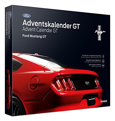 FRANZIS 55111 - Ford Mustang GT Adventskalender 2021