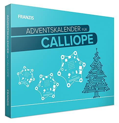 FRANZIS 55121 - Calliope Adventskalender 2021, 24 Tage lang basteln, tüfteln und programmieren, für Kinder ab 14 Jahren
