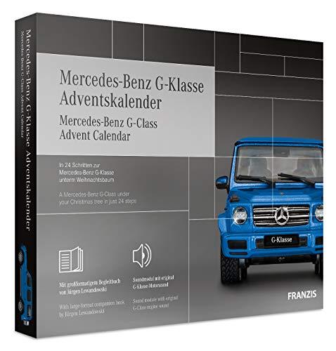 FRANZIS Mercedes-Benz G-Klasse Adventskalender 2020, In 24 Schritten zur Mercedes-Benz G-Klasse unterm Weihnachtsbaum, Ab 14 Jahren