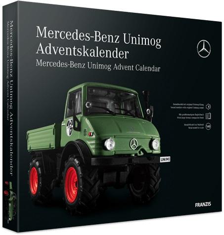 Mercedes Unimog 406 Adventskalender