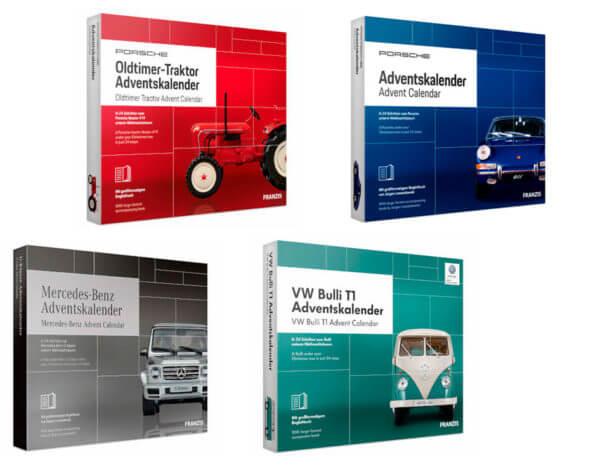 Franzis Modellautos Adventskalender Übersicht 2019