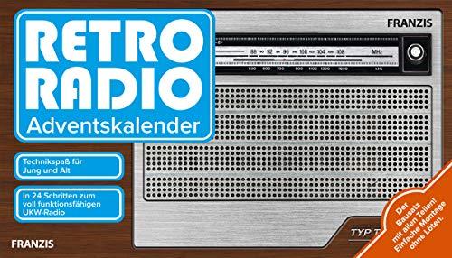 FRANZIS Retro Radio Adventskalender 2020: Bauen Sie in 24 Schritten Ihr eigenes UKW-Radio! Einfache Montage ohne Löten