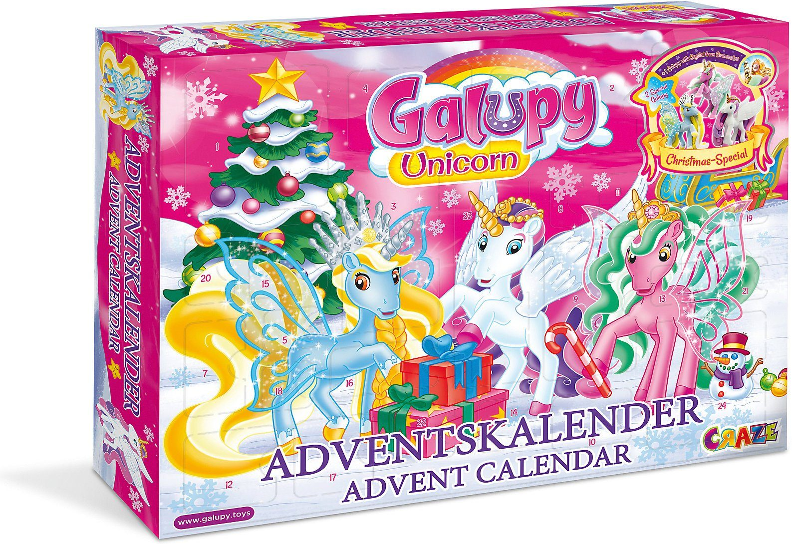 Galupy Unicorn Adventskalender