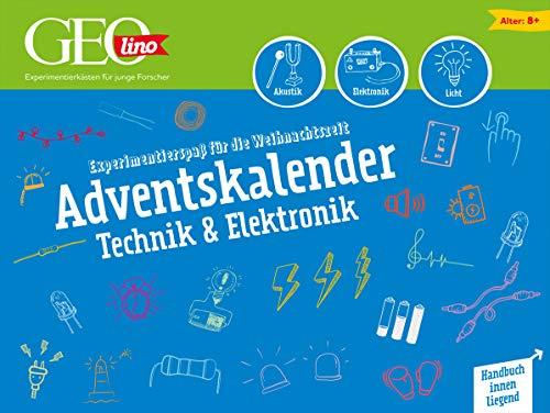 GEOlino Technik & Elektronik Adventskalender 2020: Experimentierspaß für die Weihnachtszeit