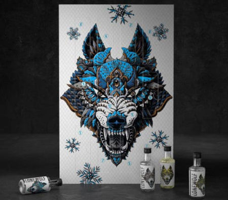12 LoneWolf Gins of Christmas