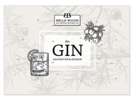 Gin Adventskalender 2021 belle booze