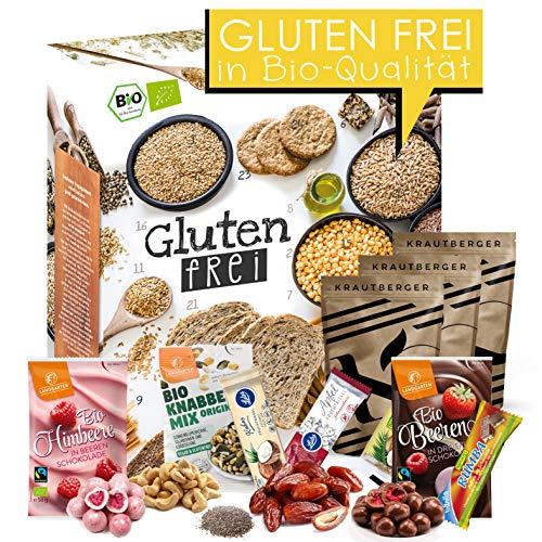 Glutenfreier Adventskalender I Kalender für die glutenfreie Ernährung I Ohne Weizen durch die Adventszeit I weizenfrei I gesunder Adventskalender I no gluten