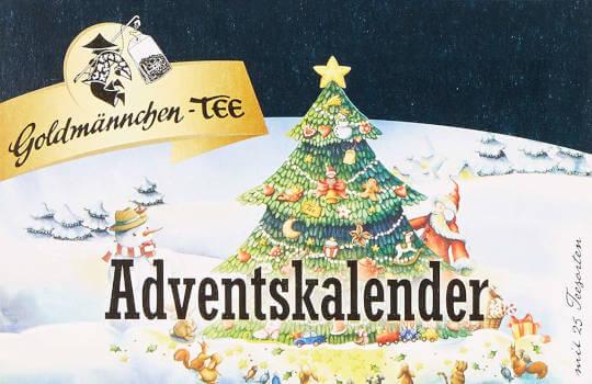 Goldmännchen Tee adventskalender thumbnail