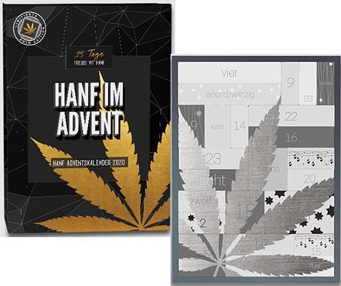 Hanf HanfMed Adventskalender 2020 Silber Edition