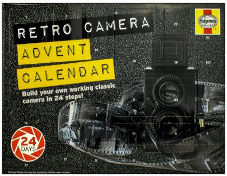 Haynes DIY Retro Camera Adventskalender