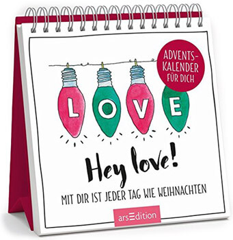 Hey love! Adventskalender 2018