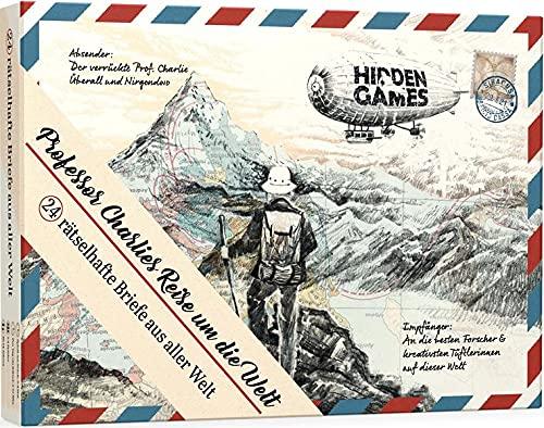 Escape Adventskalender: Professor Charlies Reise um die Welt. – Hidden Games – detail 1