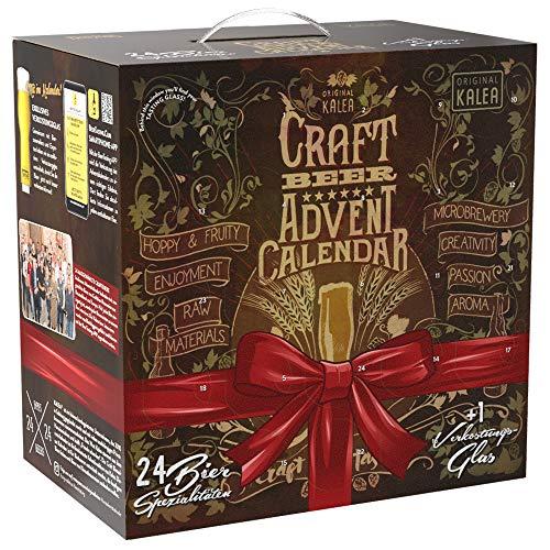 Kalea Craft Beer Adventskalender 2020 | 24 x 0.33 l Craft Biere | Geschenkidee Zur Vorweihnachtszeit