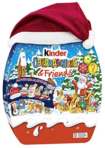 Kinder Überraschung und Friends Adventskalender, 1er Pack (1 x 431 g) – KINDER MIX – detail 3