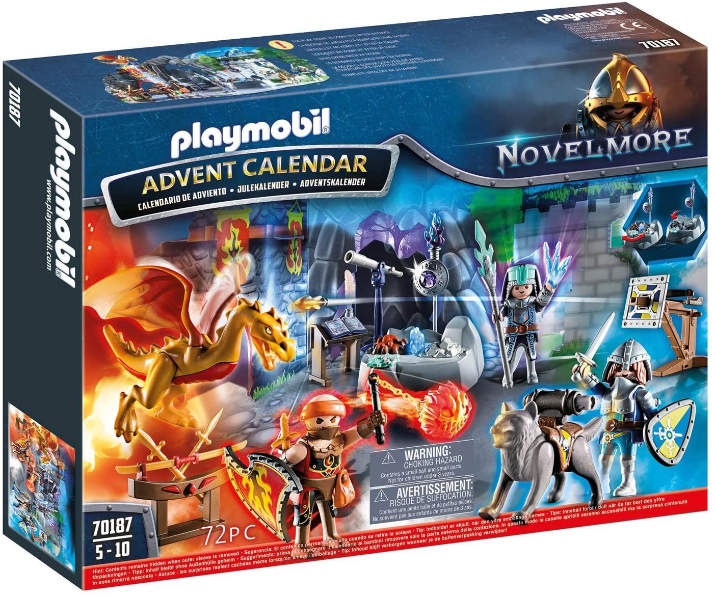 Playmobil Knights of Novelmore Advent Calendar 2019
