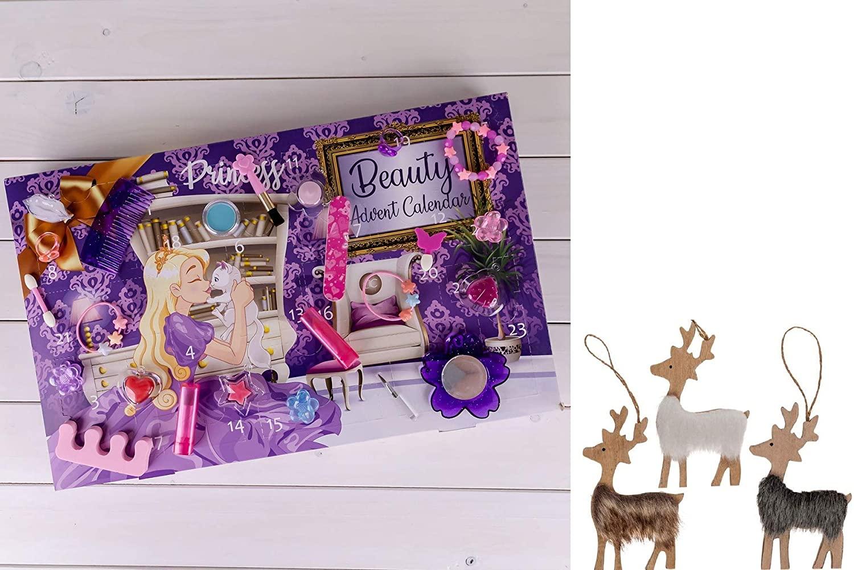 Beauty Prinzessin Adventskalender für Mädchen