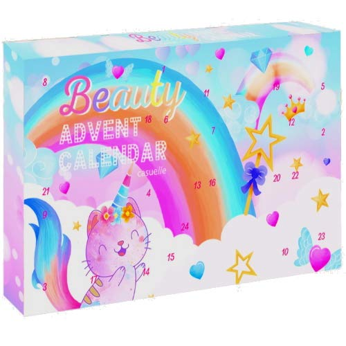 CATICORN Beauty Kosmetik Adventskalender Advent of Beauty Surpris 24tlg