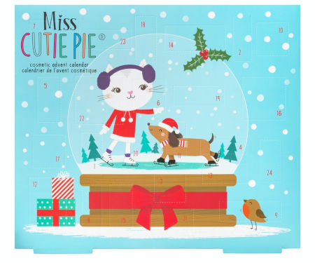 Miss Cutie Pie Schminke Adventskalender