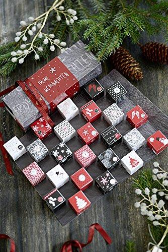 Lauenstein Adventskalender -Winter Cubes- 1x300g