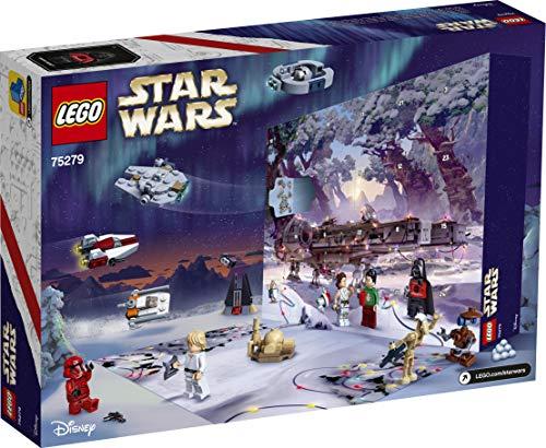 LEGO 75279 Star Wars Adventskalender 2020 Weihnachten Mini Bauset mit legendären Raumschiffen und Charakteren – LEGO – detail 2