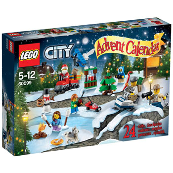 Lego City 60099 Lego Adventskalender 2016