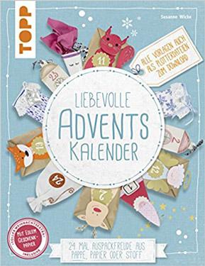 Liebevolle DIY Adventskalender Taschenbuch 2018