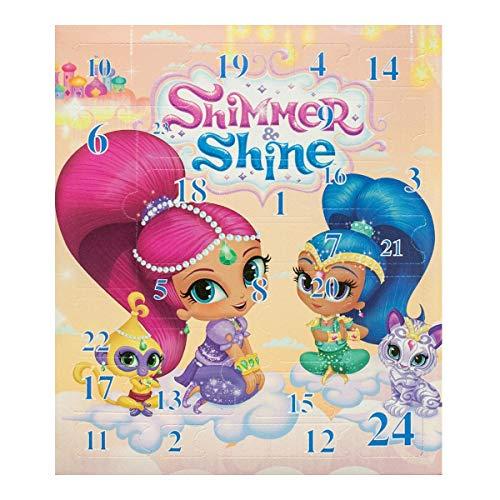 Lively Moments Adventskalender Shimmer & Shine mit Schmuck / Mädchen Weihnachtskalender / Weihnachten Spielzeug