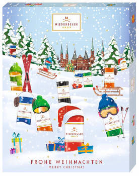 Niederegger Marzipan Winter Klassiker Adventskalender