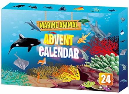 Meerestier Adventskalender