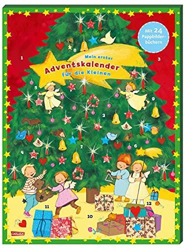 Mein erster Adventskalender für die Kleinen - mit 24 Pappbilderbüchern - 2021: mit altersgerechten Pappbilderbüchern für kleine Kinderhände