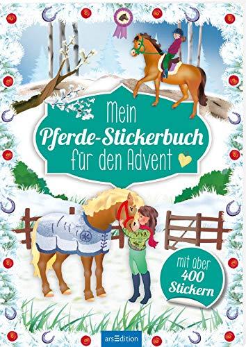 Mein Pferde-Stickerbuch für den Advent (Adventskalender)