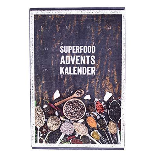 mituso Superfood Adventskalender, Weihnachtskalender mit 24 Überraschungen glutenfrei natürlich – detail 1