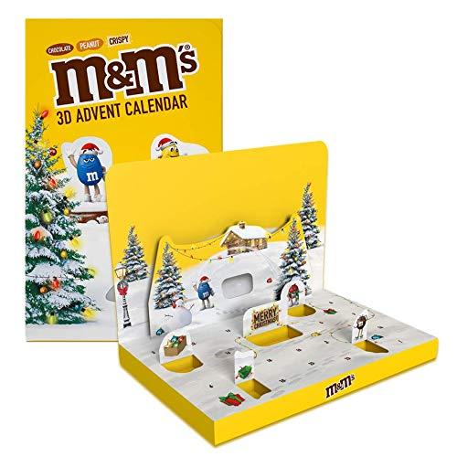 M&M'S Weihnachts-Adventskalender 346g