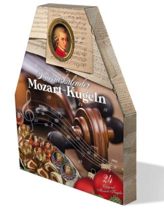 Mozartkugeln Adventskalender