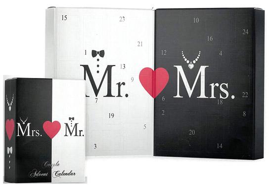 Accentra Adventskalender Mr and Mrs für Paare