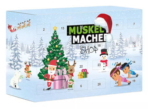 Muskel Macher Adventskalender 2019