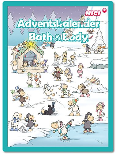 Accentra Adventskalender NICI-Jolly Mäh Bath & Body Spass im Schnee