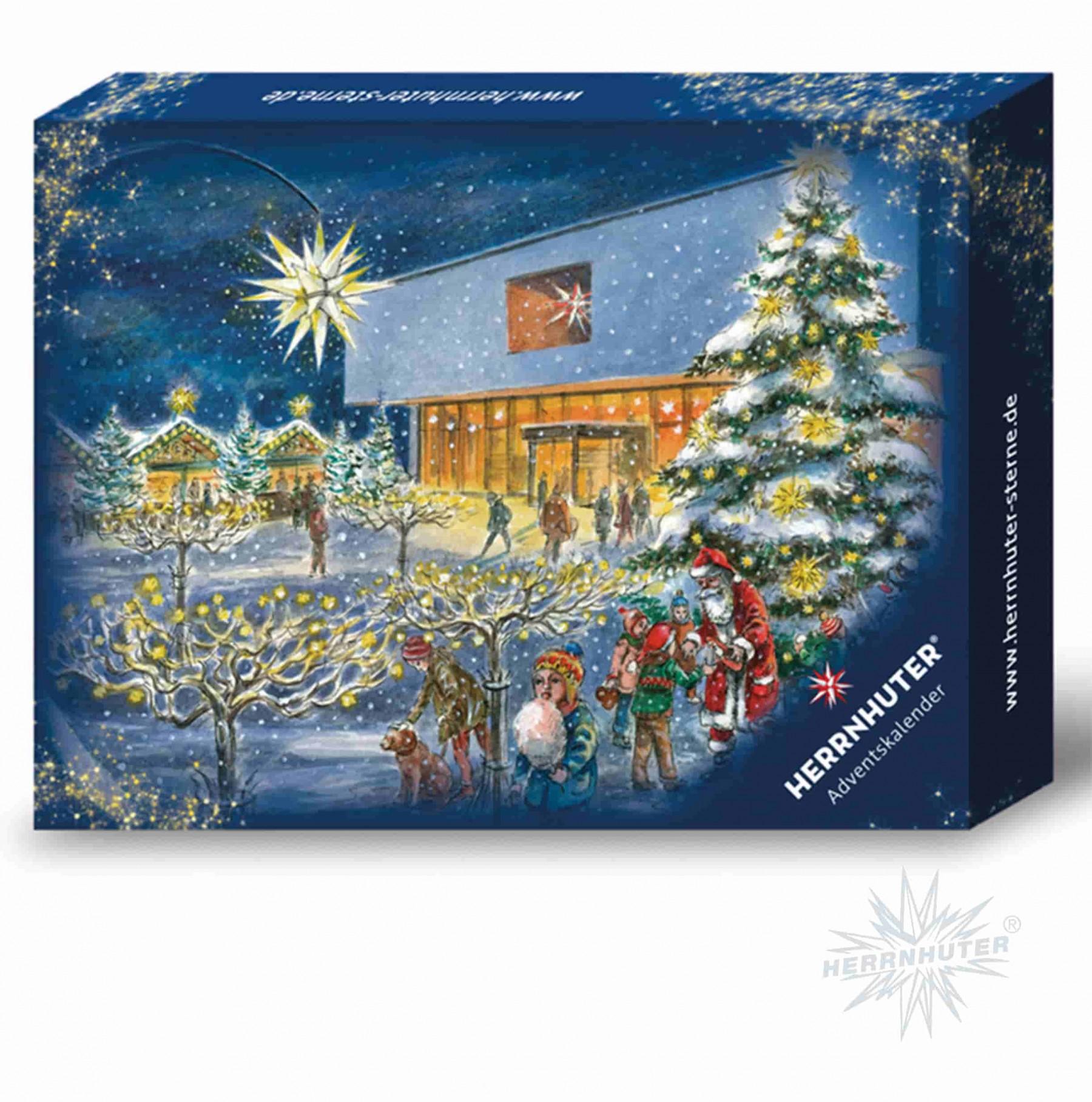 Weihnachtsstern Adventskalender