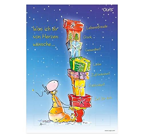 Oups Adventkalender 2020: Was ich dir von Herzen wünsche...