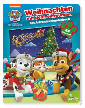 Adventskalender Paw Patrol Buch Weihnachten mit den Fellfreunden