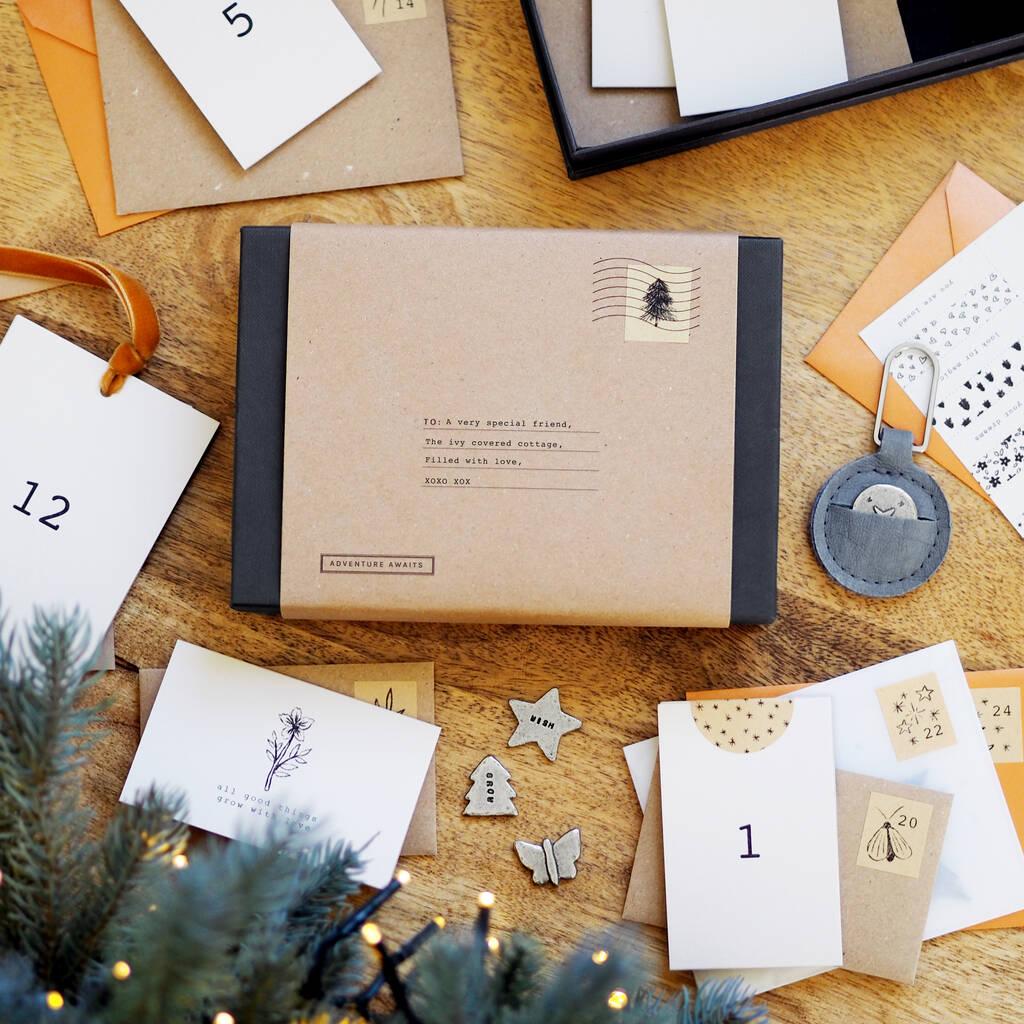 Personalized 'Adventure Awaits' Advent Calendar